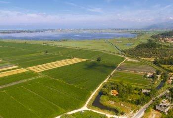 Lago zone agricole