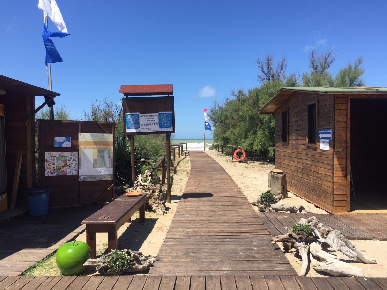 Alla scoperta della spiaggia del Gombo