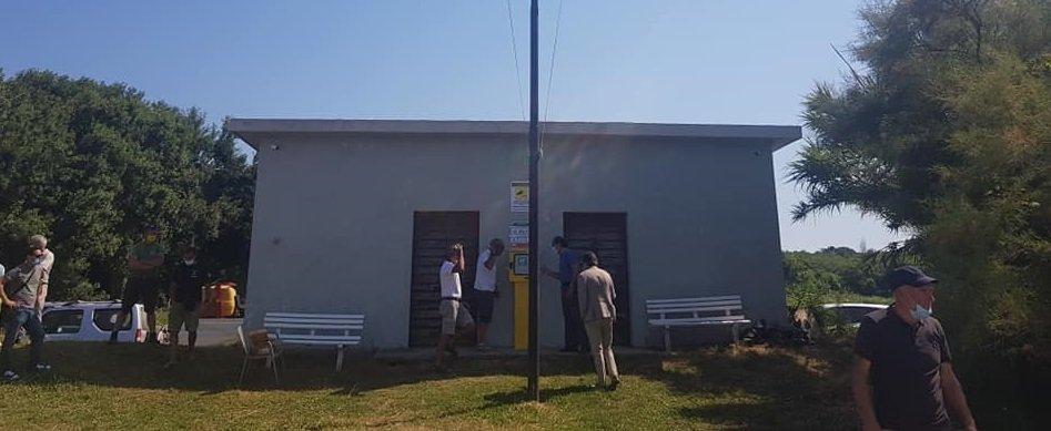 Defibrillatore alla Casina dei Pescatori