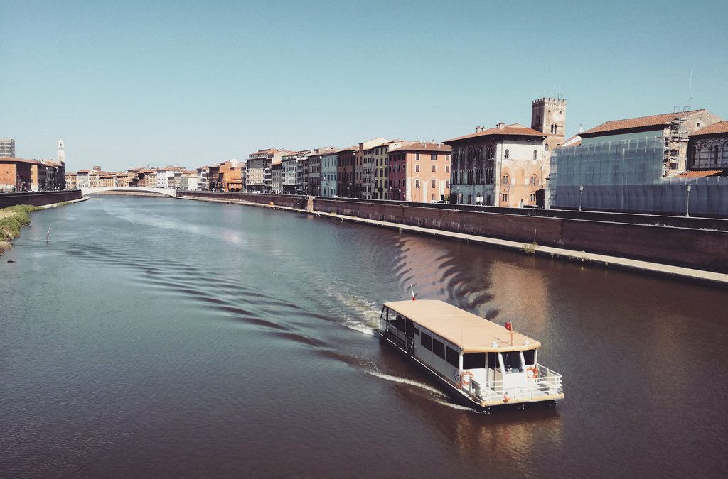 Da Pisa a San Rossore via fiume