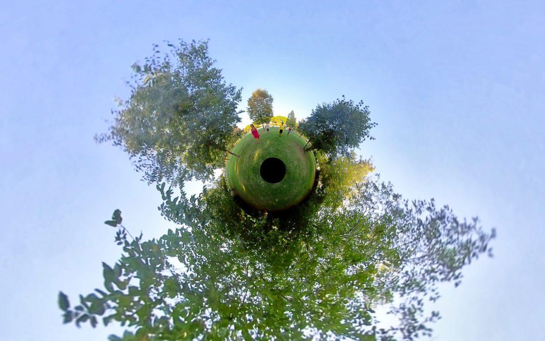 Pinocchio around the Park